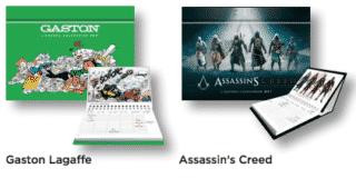 Gaston Lagaffe et Assassin' Creed
