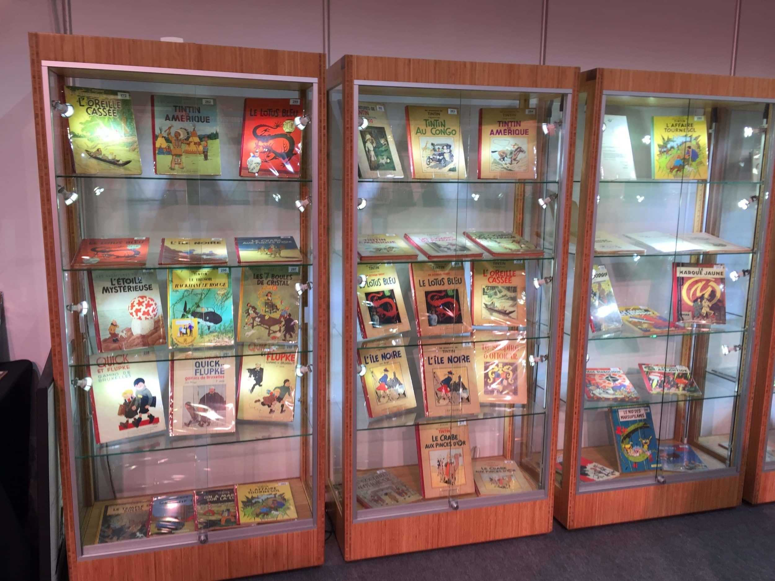 Albums et dédicaces chez BD enchères à Liège le 2 octobre