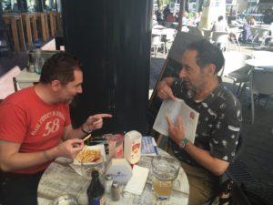 Romain Hugault et Yann
