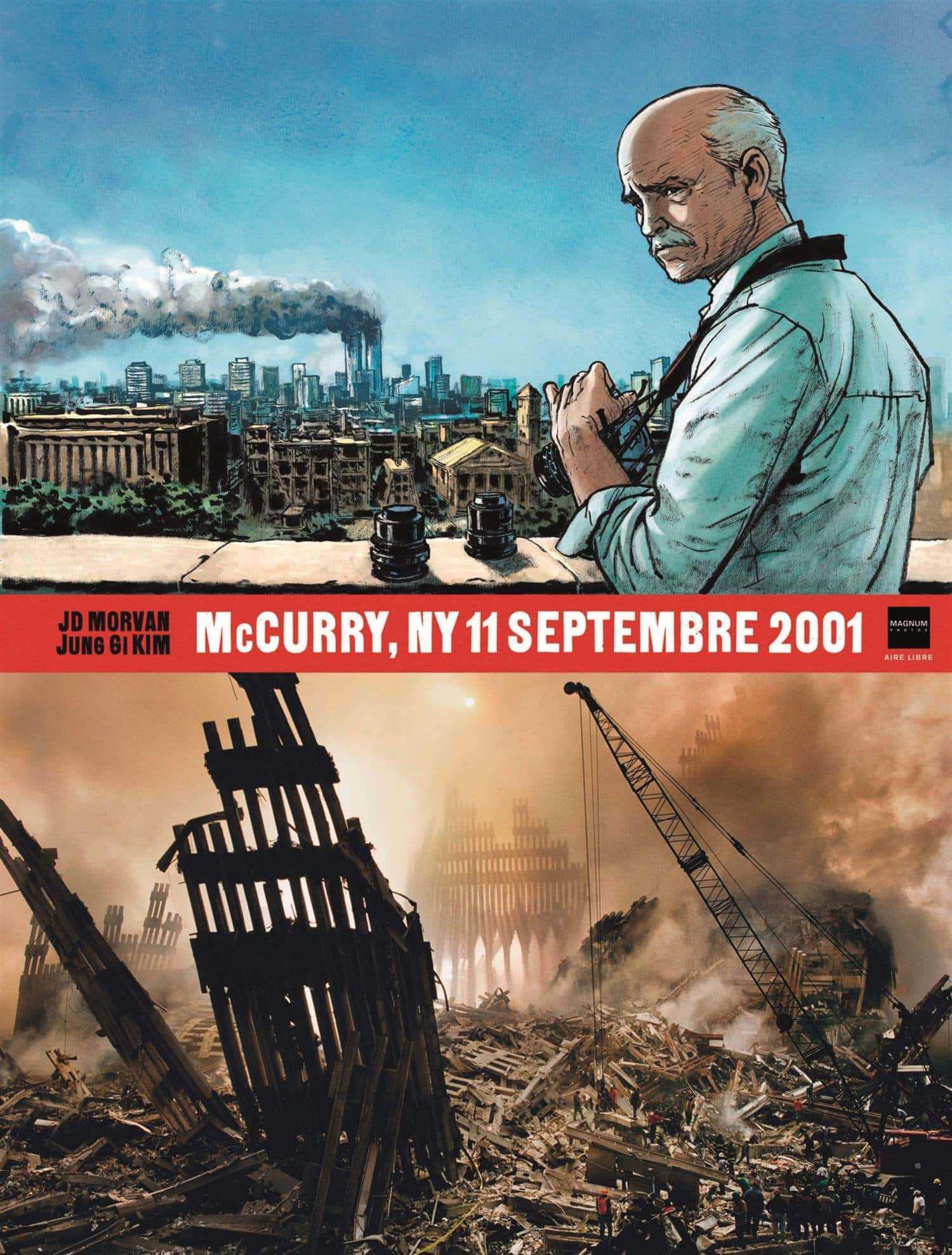 McCurry, NY 11 septembre 2001, des Twins au stade de France