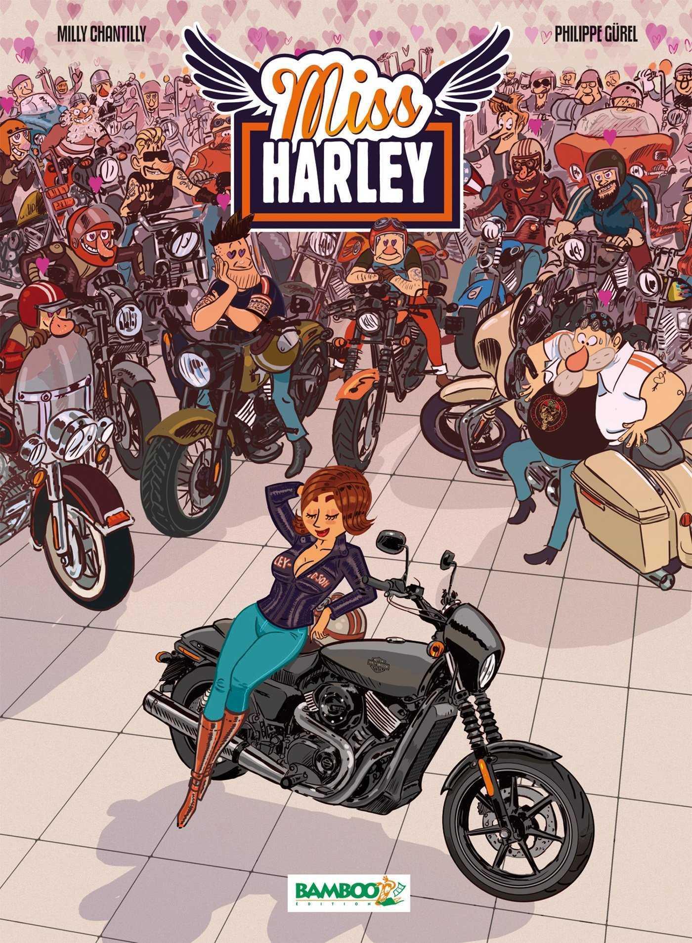 Miss Harley, les débuts d'une amoureuse des gros cubes