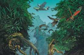 Amazonie, Kathy Austin sur la piste d'un extra-terrestre avec Léo et Rodolphe