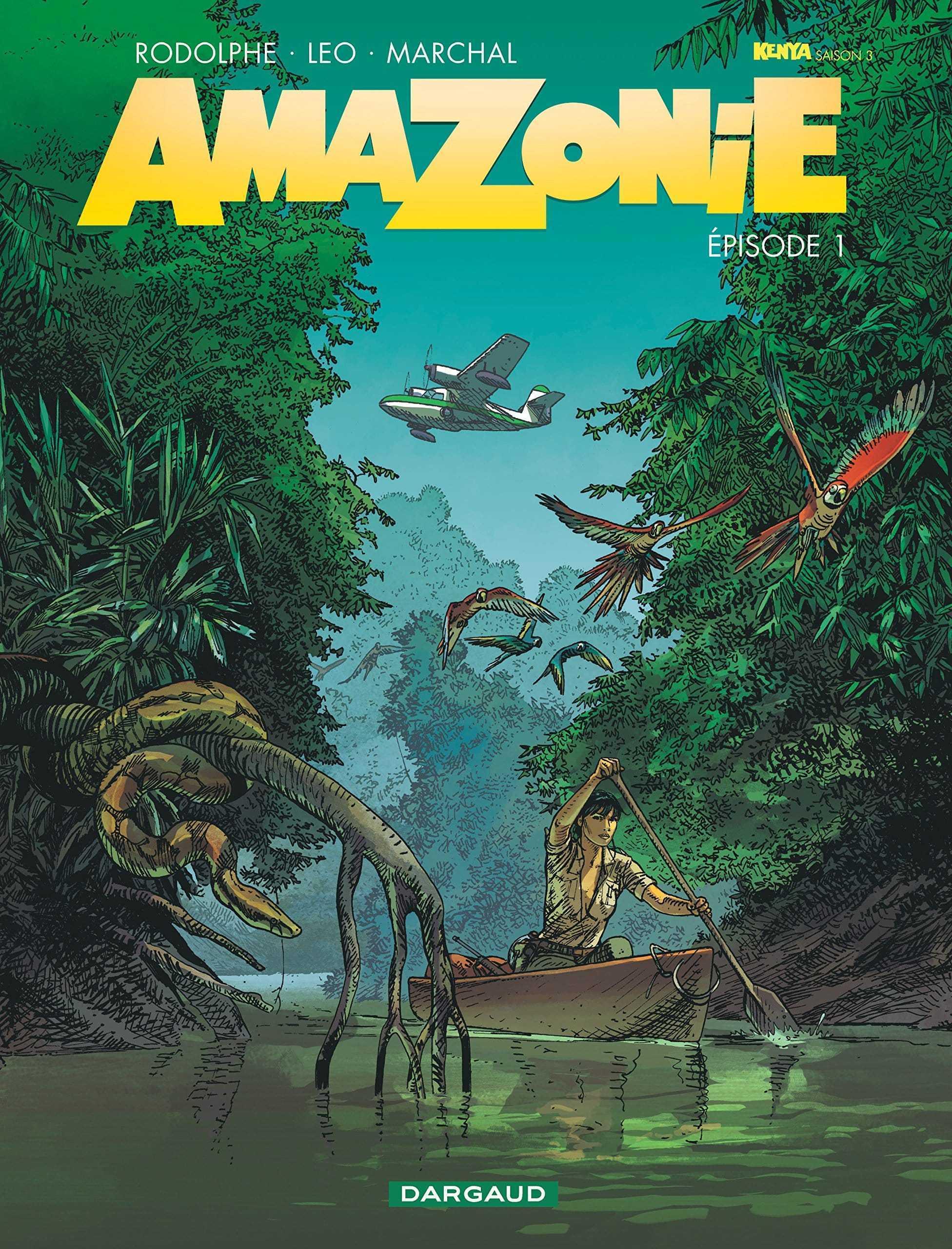 Amazonie, Kathy Austin sur la piste d'un extra-terrestre avec Leo et Rodolphe