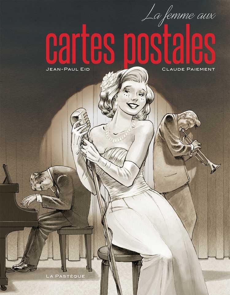 La Femme aux cartes postales prix ACBD de la BD québécoise 2016