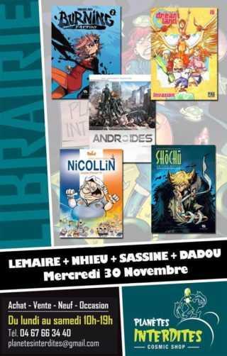 Nhieu, Dadou, Lemaire et Sassine
