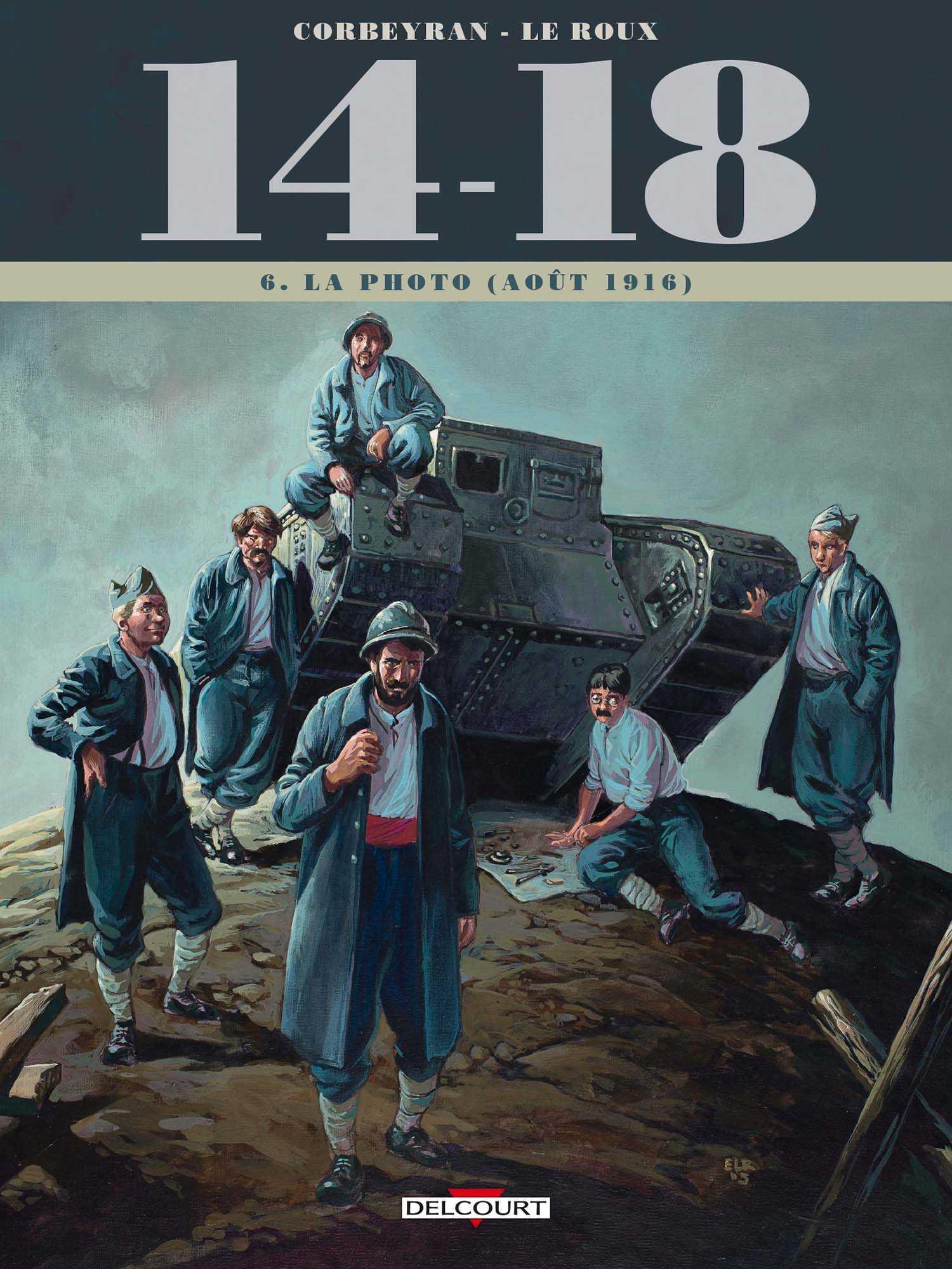 14-18 T6, les chars font leurs débuts