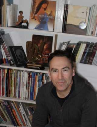 Jim en dédicace à La Bulle le 1er avril à Nîmes pour L'Érection