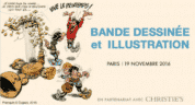 Ventes Christie's-Maghen le 19 novembre à Paris, de Gibrat à Hergé, Pratt, Moebius, Uderzo et tous les maîtres du 9e art