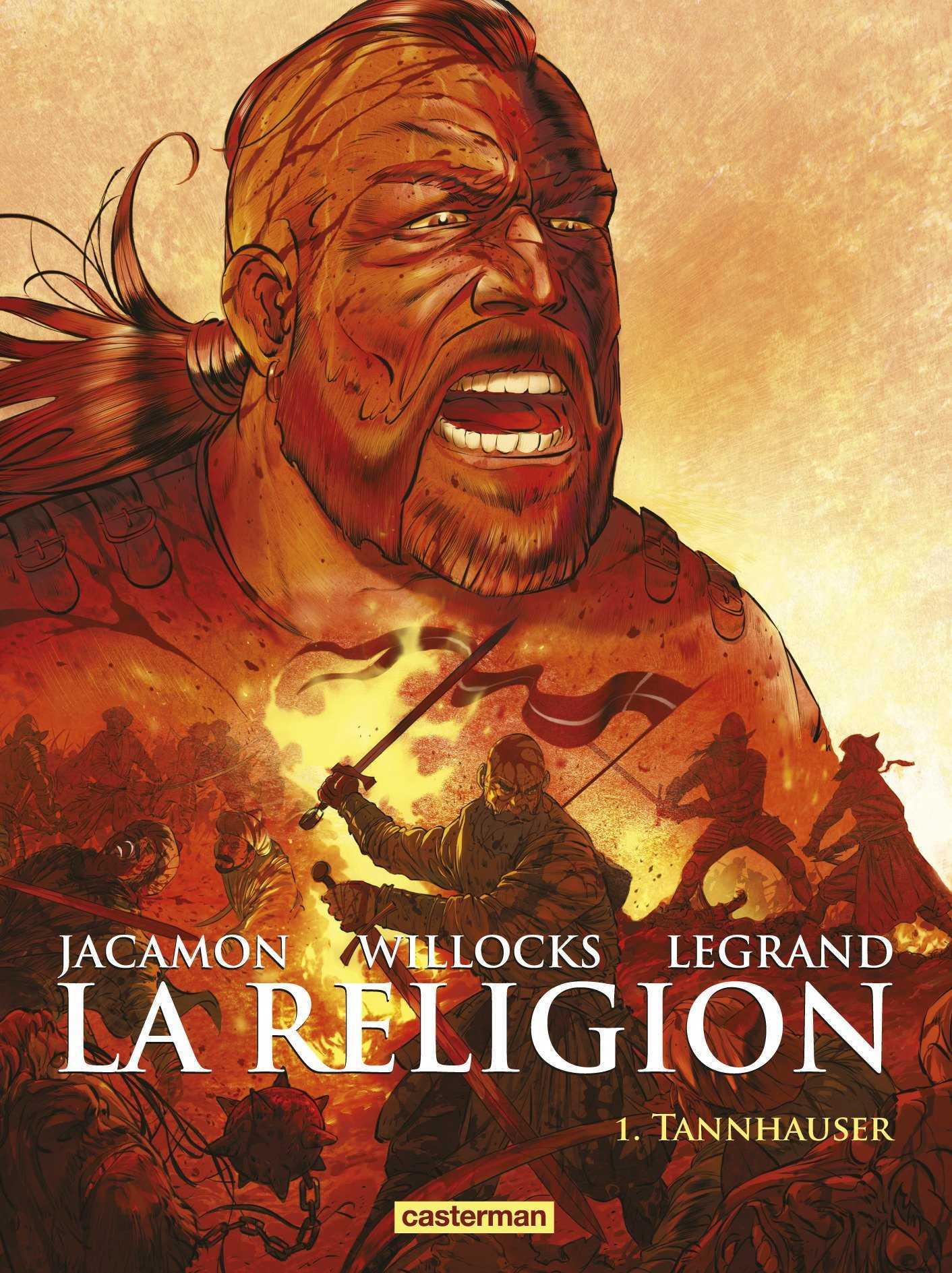La Religion, une adaptation de Willocks avec Jacamon au dessin