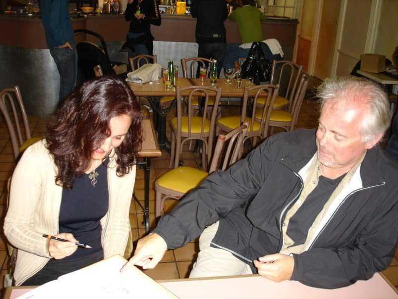 Ana Miralles et Jean Dufaux