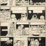 1,55 million d'euros pour une planche de Tintin