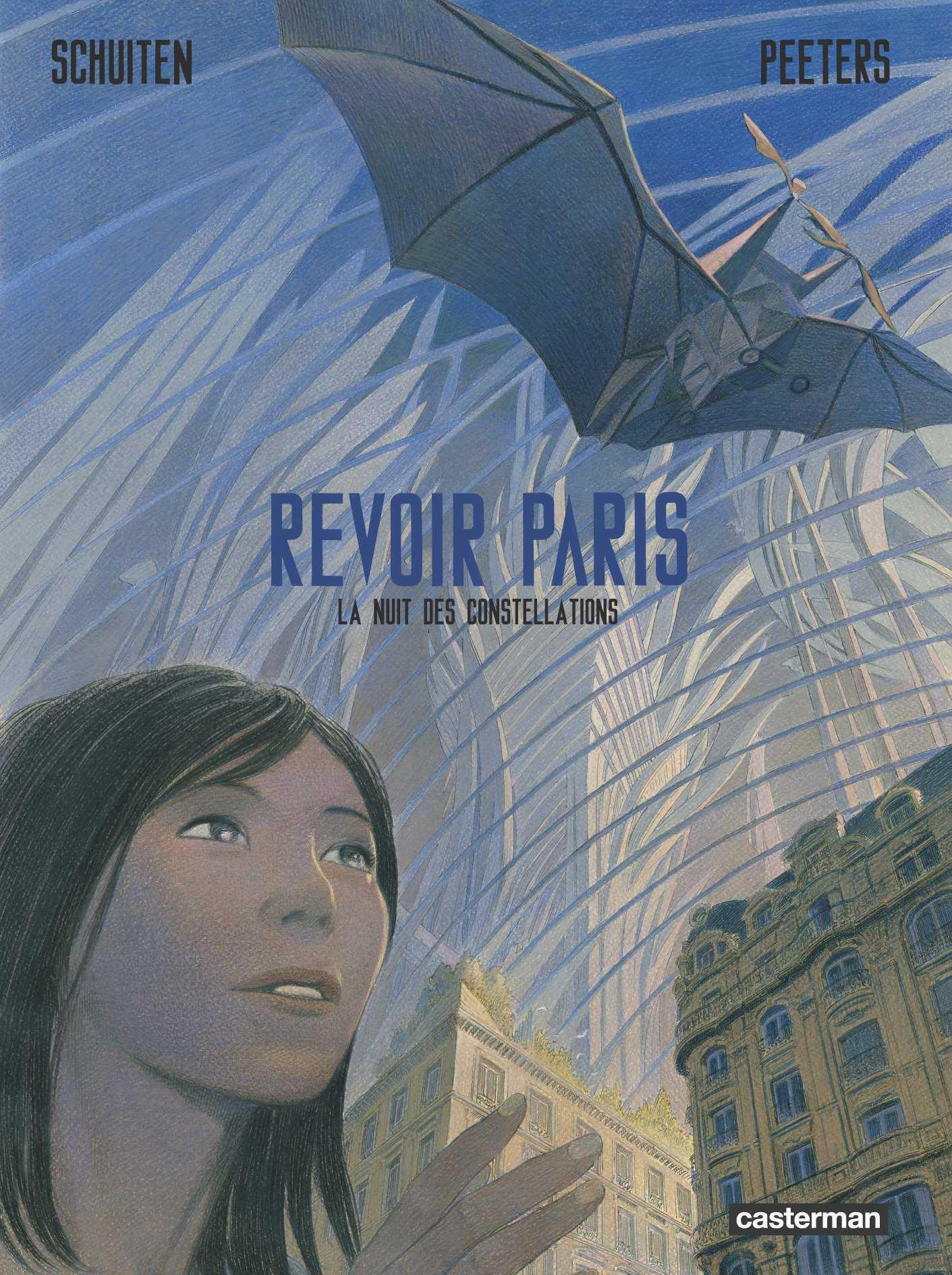 Revoir Paris T2, Schuiten et Peeters au bout d'un voyage en forme de fable et une exposition à Paris aux Arts et Métiers