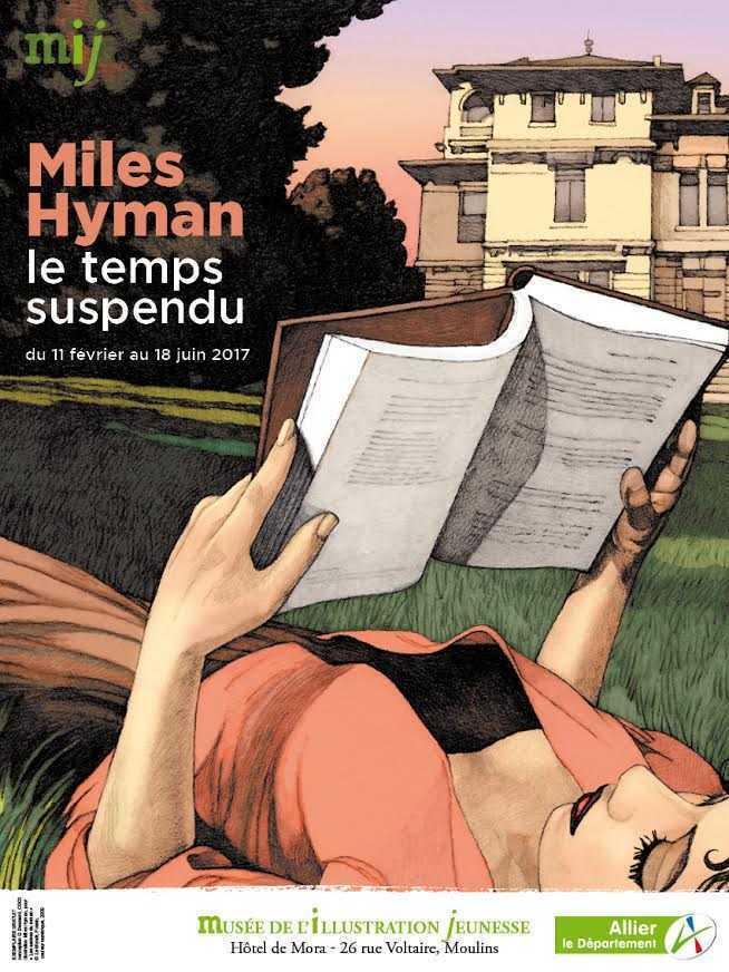 Miles Hyman, le temps suspendu s'expose à Moulins en février