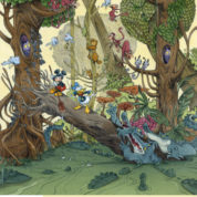 Mickey par Glénat avec Loisel, Cosey, Kéramidas, Tébo qui s'exposent à Paris
