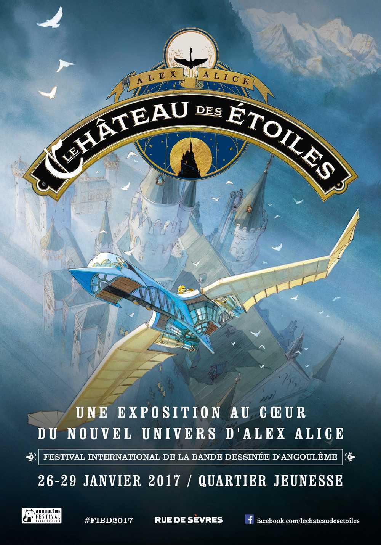 Le Château des Étoiles avec Alex Alice, un coffret pour Noël et une exposition à Angoulême