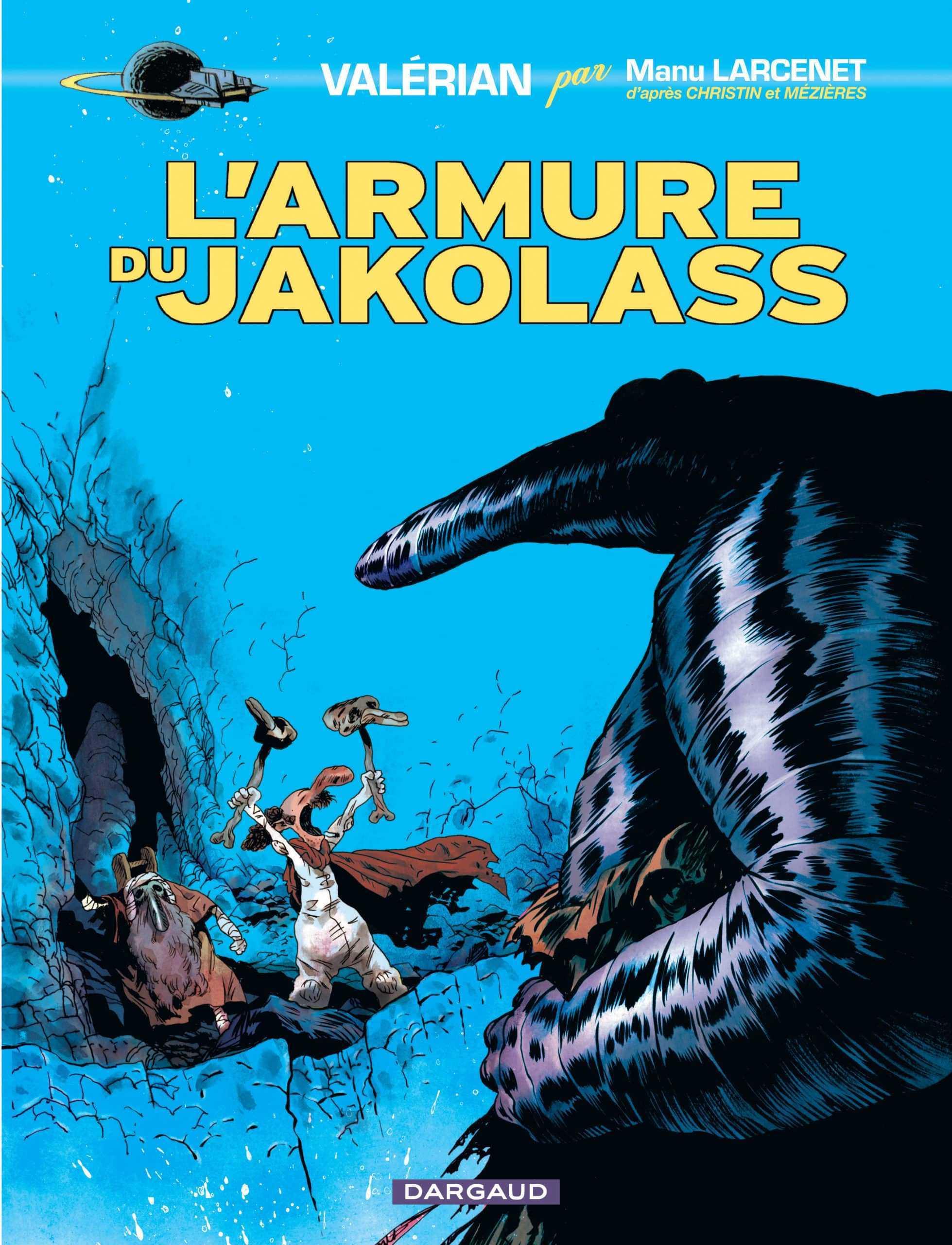Archives : L'Armure du Jakolass, quand Manu Larcenet revisitait l'univers de Valérian