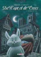 Café Zombo et De Cape et de crocs T12 nominés du Prix des libraires BD 2017