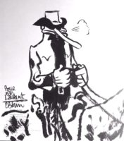 Archives : les débuts d'un certain Gus et d'un western selon Christophe Blain