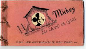 Mickey au camp de Gurs