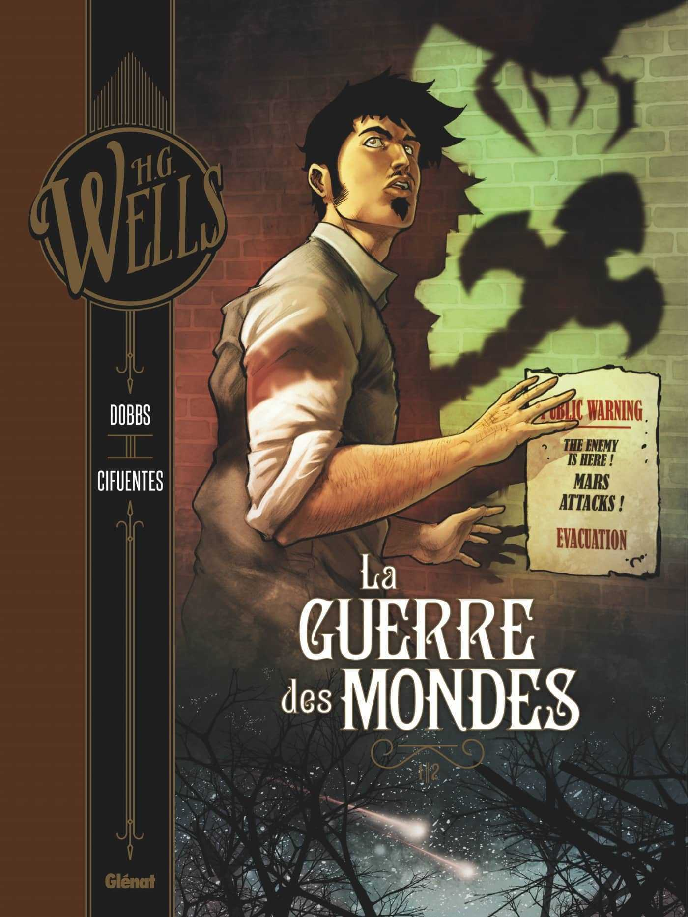 Interview : Dobbs adapte H.G. Wells, de La Guerre des Mondes à L'Homme invisible