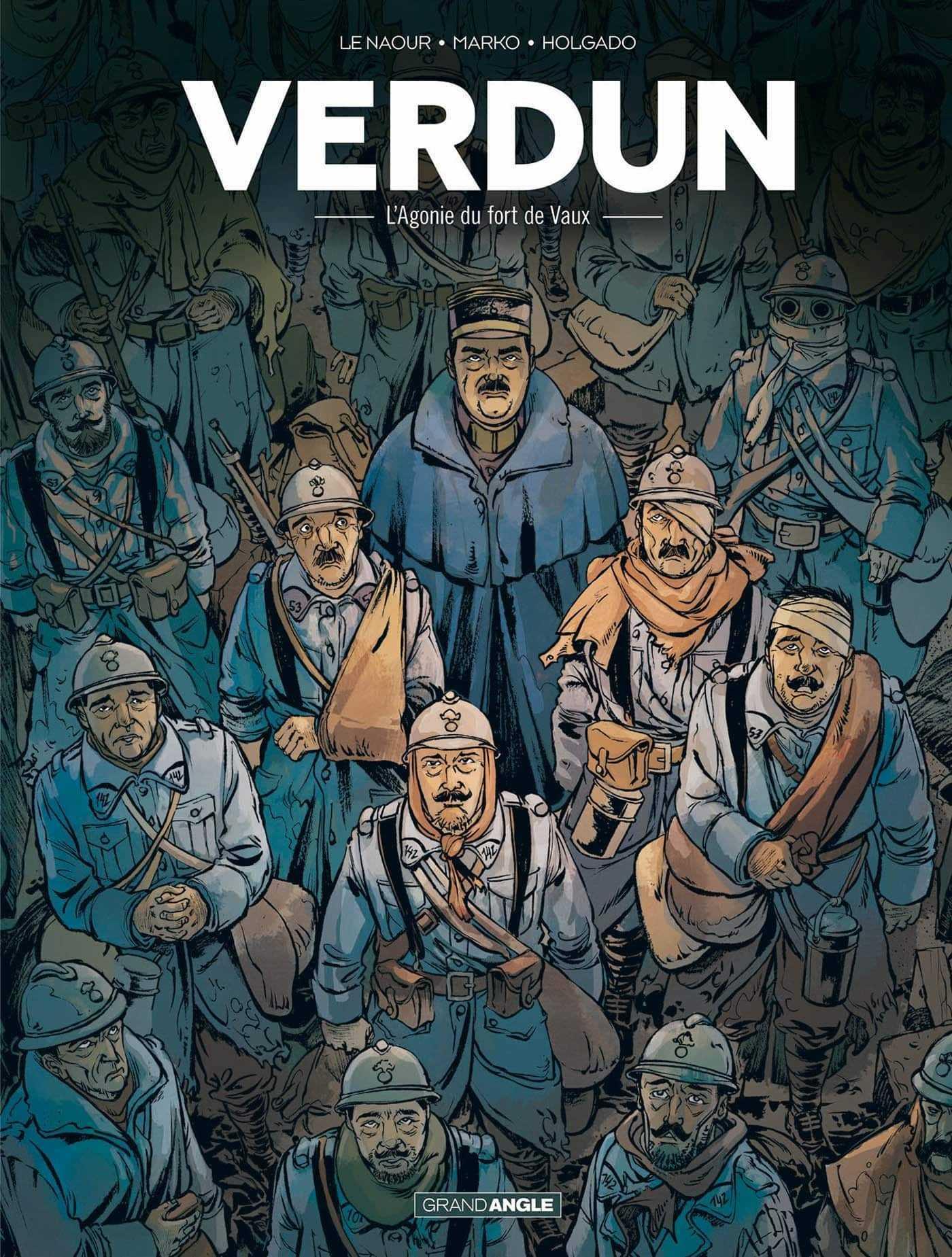 Bataille de Verdun, l'agonie du Fort de Vaux en 1916