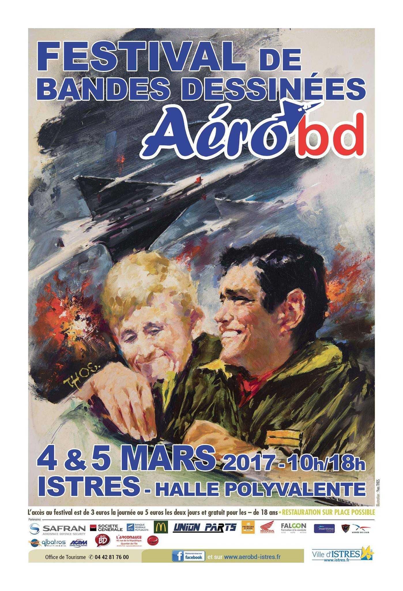 Aérobd à Istres les 4 et 5 mars, bulles, avions, action et aventure