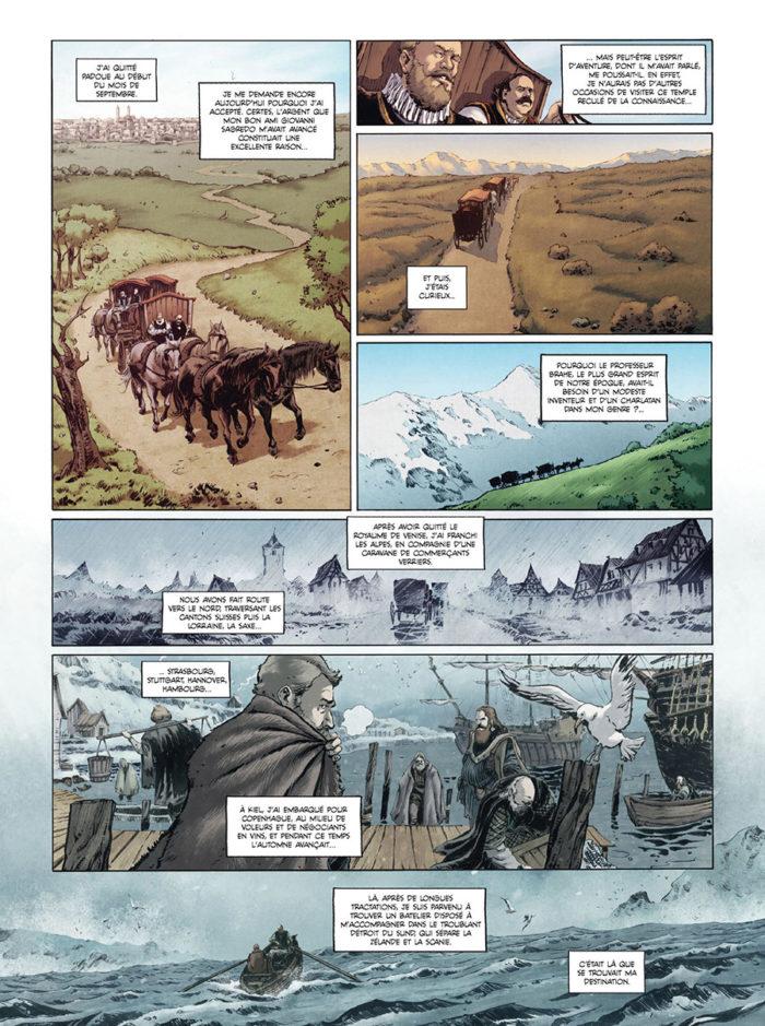 Uraniborg 1594, la bête de l'île