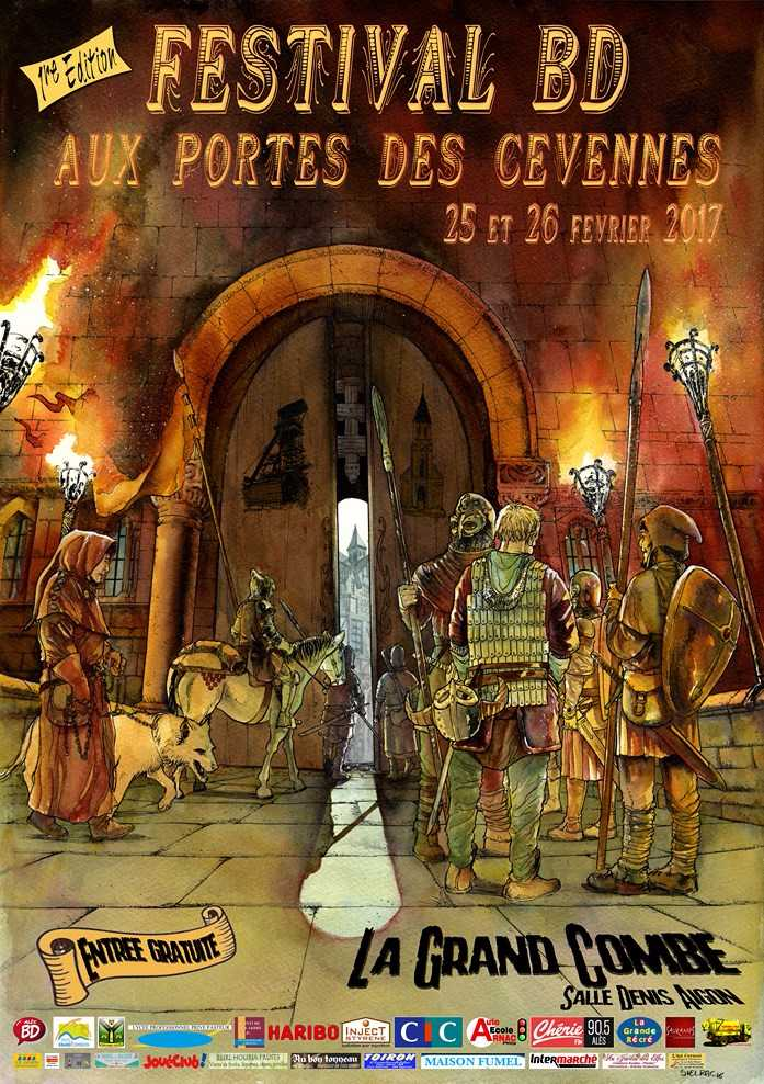 BD aux Portes des Cévennes, c'est le 25 et 26 février à La Grand Combe avec 18 auteurs