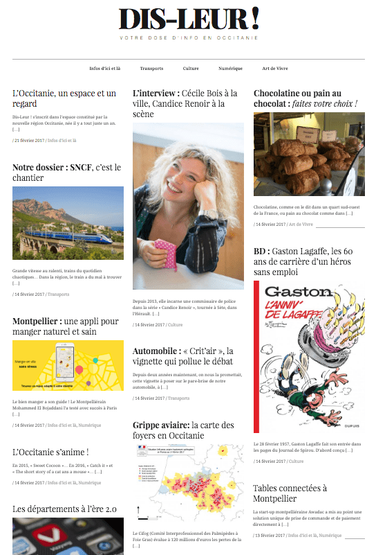 dis-leur.fr, l'info fait peau neuve en Occitanie