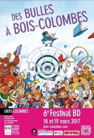 Des bulles à Bois-Colombes les 18 et 19 mars avec Stédo invité d'honneur