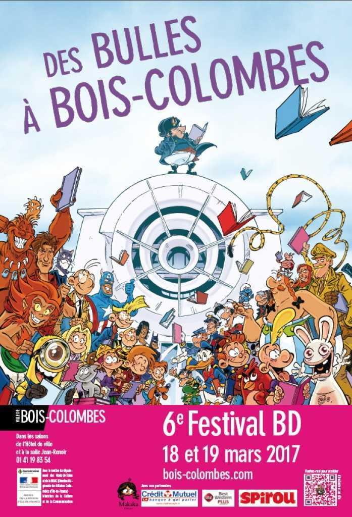 Des Bulles à Bois-Colombes, c'est le 18 et 19 mars 2017