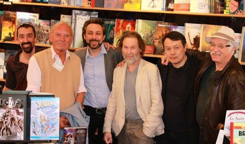 Fabien Nury, Jean Van Hamme, Xavier Dorison, Christian Rossi, TaDuc et Serge Le Tendre