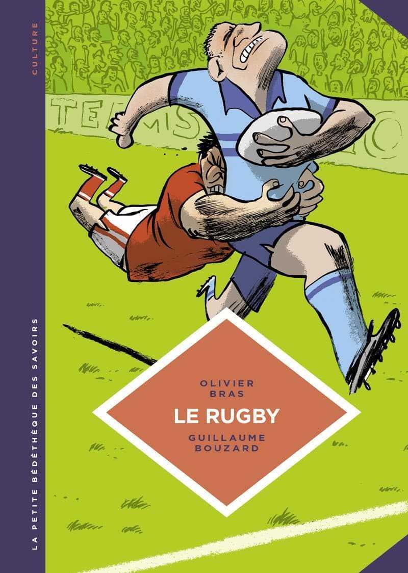 Le Rugby, Bouzard se met gaiement à l'ovale pour la Petite Bédéthèque des Savoirs