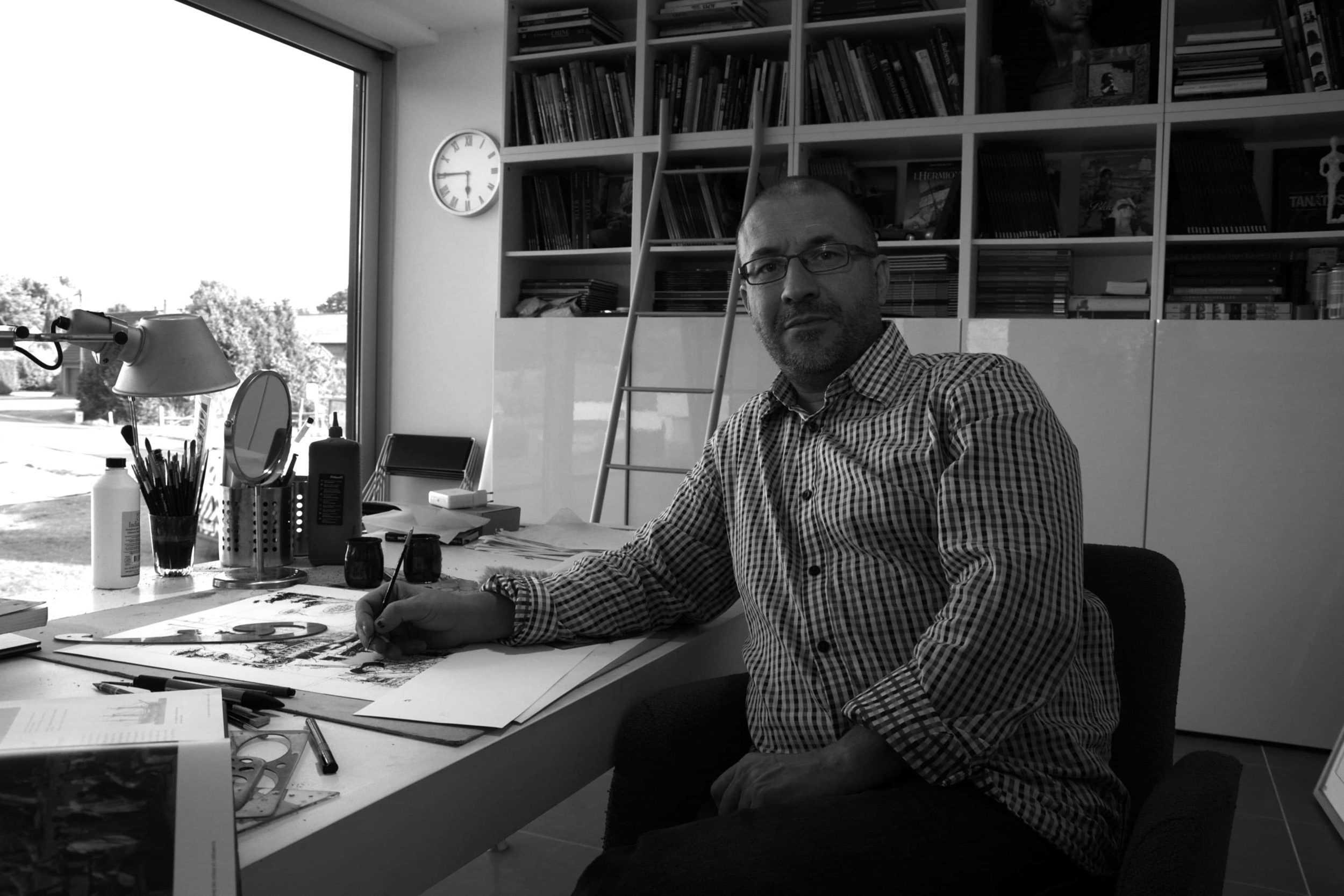 Les grandes batailles navales, Jean-Yves Delitte à l'abordage de la nouvelle collection Glénat