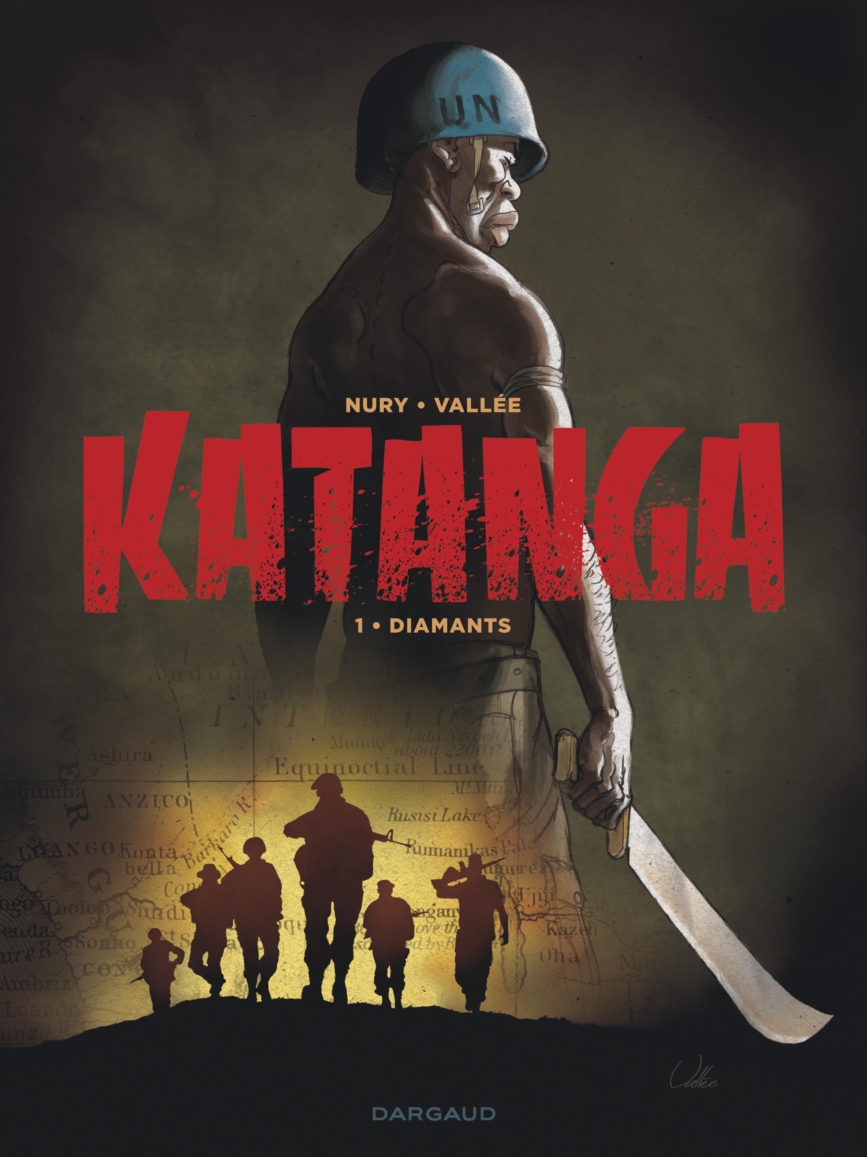 Katanga, Nury et Vallée avec les Affreux