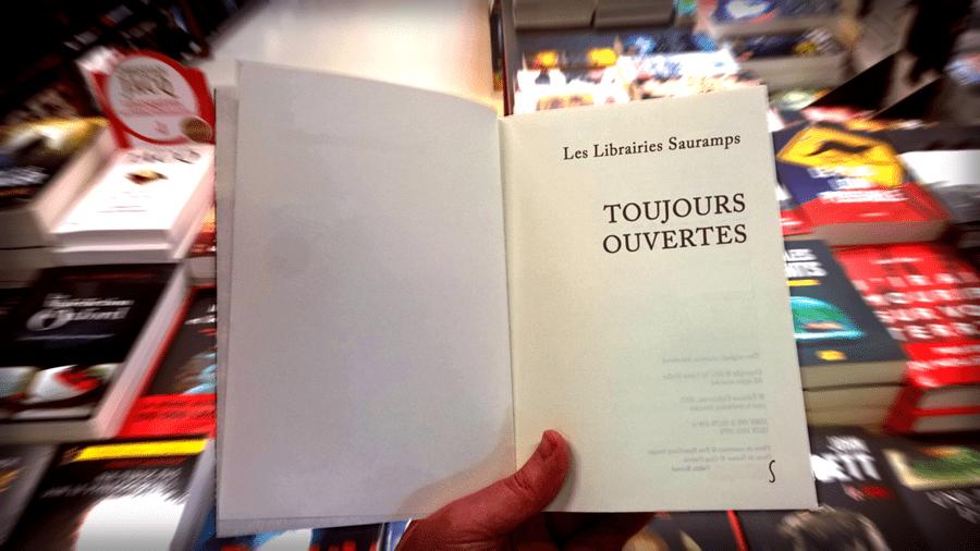 Les librairies Sauramps continuent et sont ouvertes