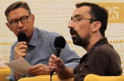 Fabien Nury interviewé par ligneclaire à Montpellier. JLT ®