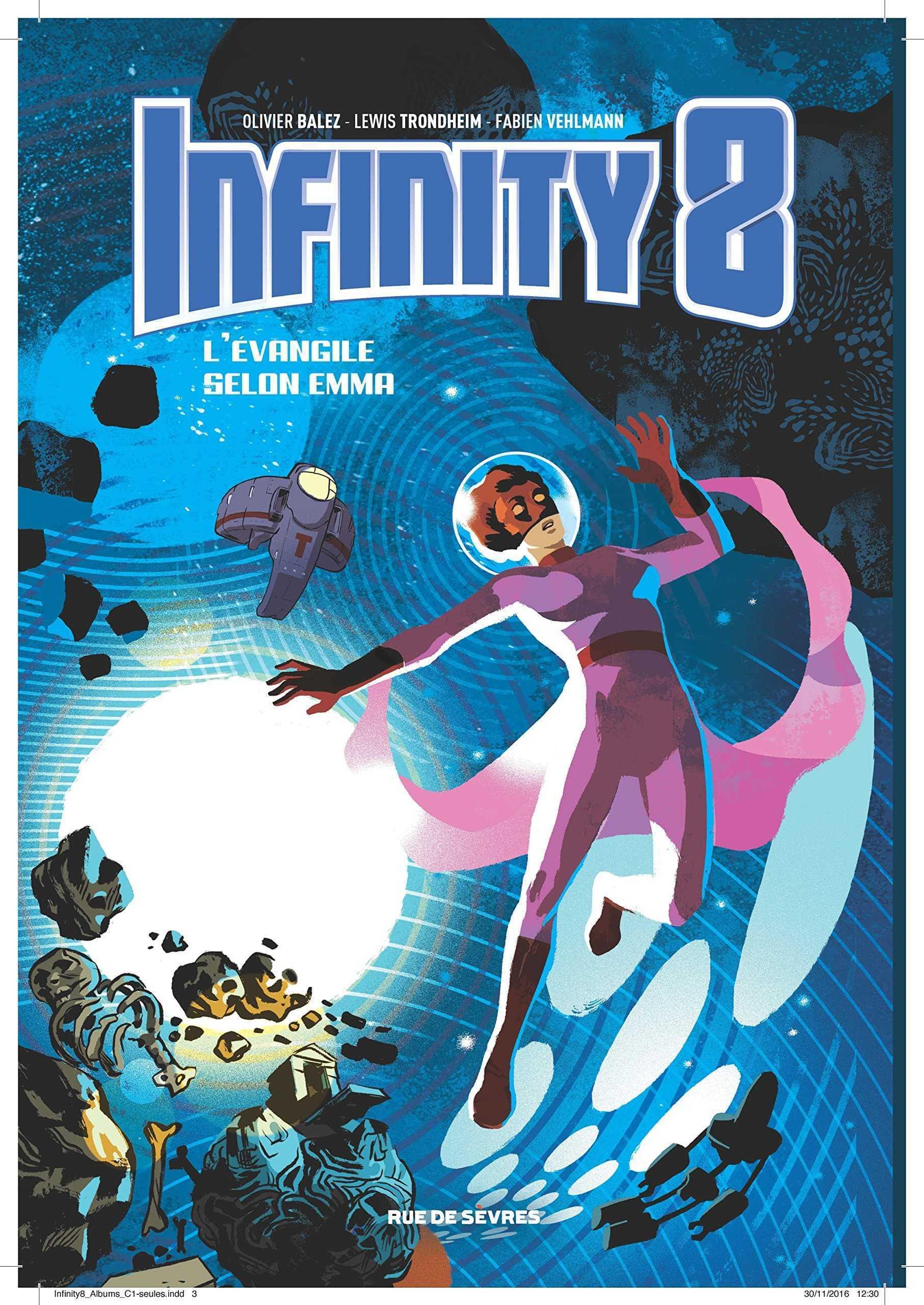 Infinity 8 T3, Emma priez pour nous