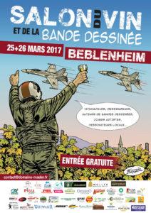 Salon du vin et de la bande dessinée 2017 de Beblenheim