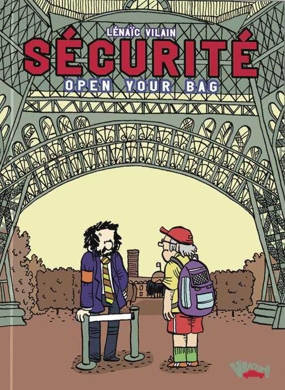 Sécurité, Open your bag à la Tour Eiffel