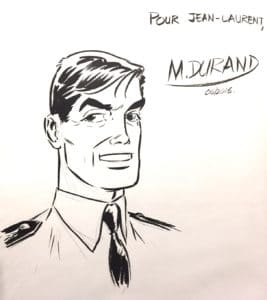 Dédicace de Matthieu Durand