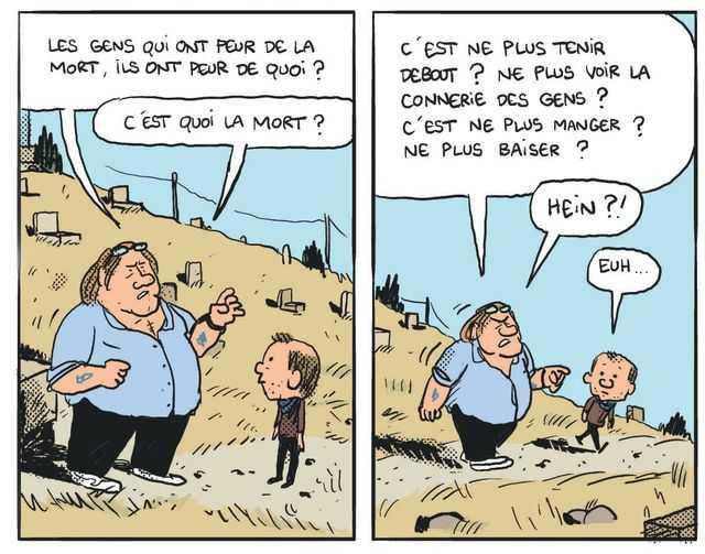 Cinq années dans les pattes de Depardieu