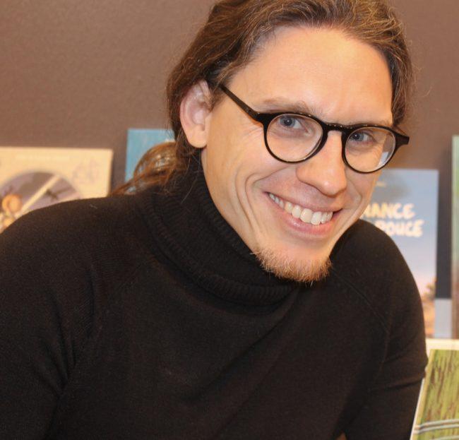 S. Rubio, scénariste aussi de Monet. JL T ®