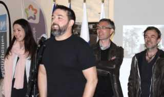 Sonia Kerangueven, Miquel Clemente, Fabrice Erre et Fabcaro