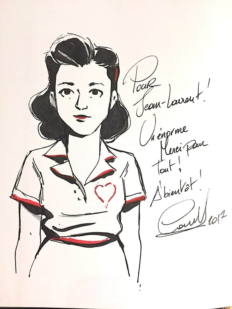 Dédicace de Carole Maurel