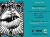 Ornithomaniacs, les drôles d'oiseaux de Daria Schmitt qui expose galerie du 9e Art