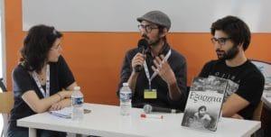 Morgane Aubert, Dimitri Mastoros et Nicolas Wouters