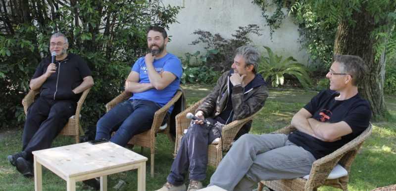 Philippe Marcel, Miquel Clemente, Fabcaro et Fabrice Erre
