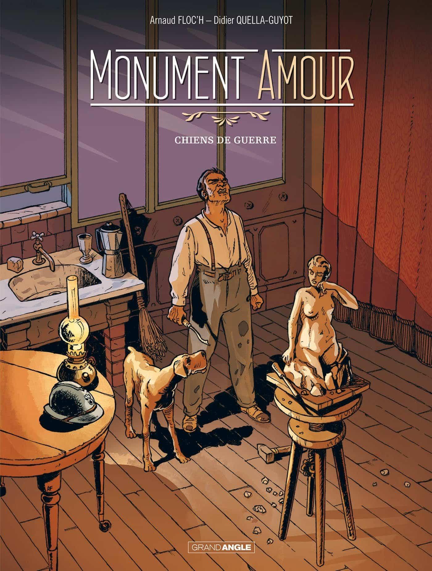 Monument amour, le chien des tranchées