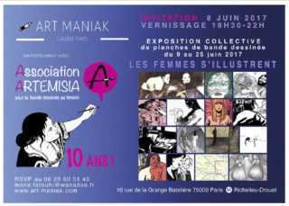 «Pluri(elles)», Les femmes s'illustrent et Artémisia fête ses dix ans chez Art Maniak